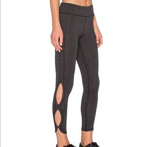 FP Charcoal Movement Infinity Cutout Leggings